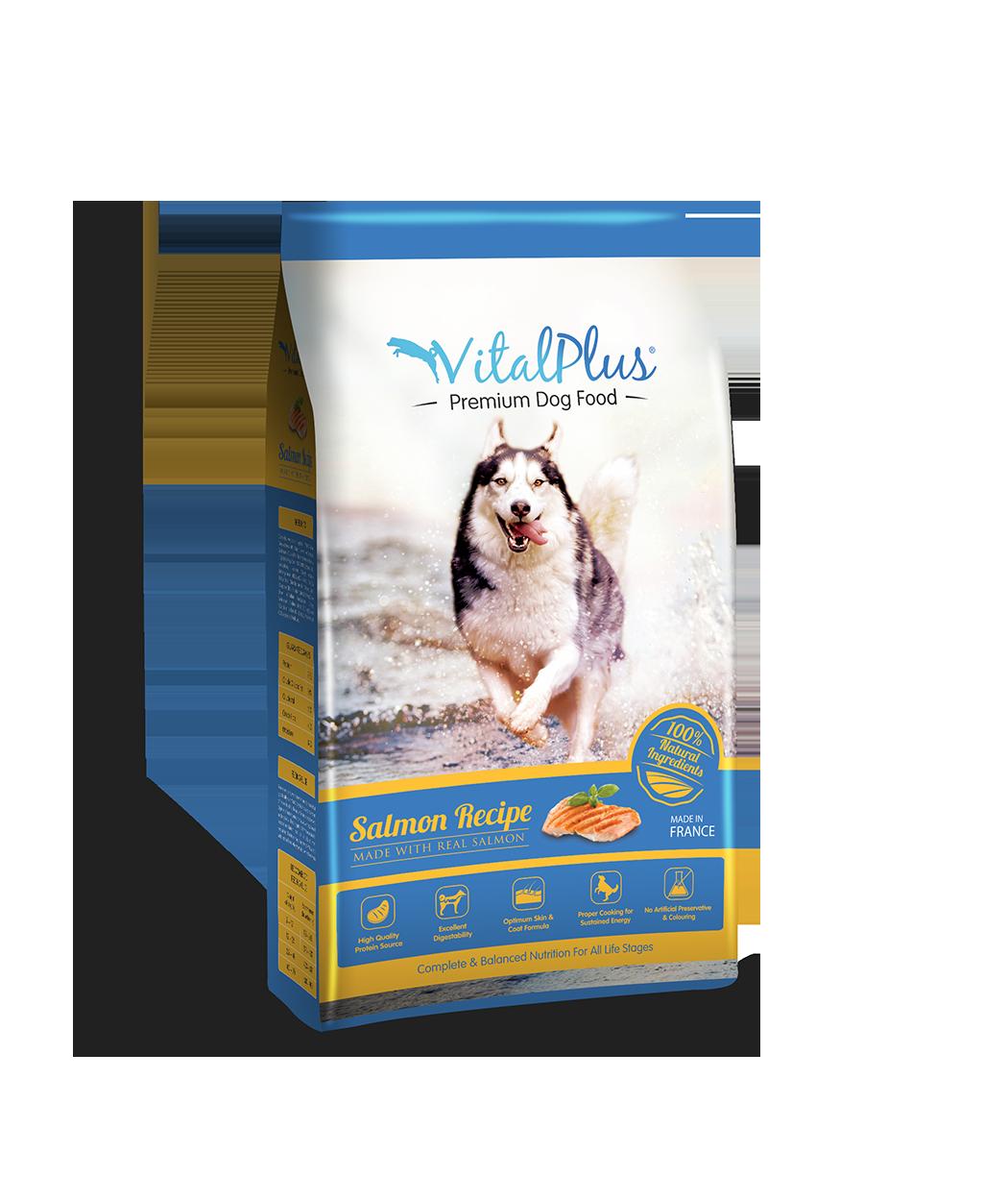 VitalPlus Dog 4kg_Salmon_Web